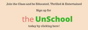 the unschool sign up banner